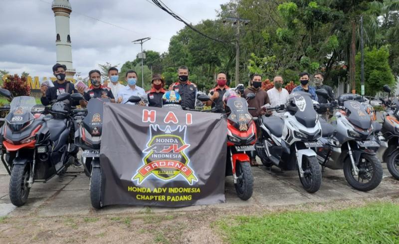 HAI Padang siap turun ke jalan bagikan masker. (foto : ende)