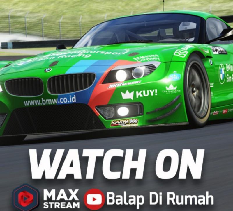 Round 3 BDR Race Against Pandemic di Sirkuit Mugello Italia bisa disaksikan di Youtube dan MAX Stream Balap di Rumah mulai pukul 18.50 WIB, Sabtu malam ini
