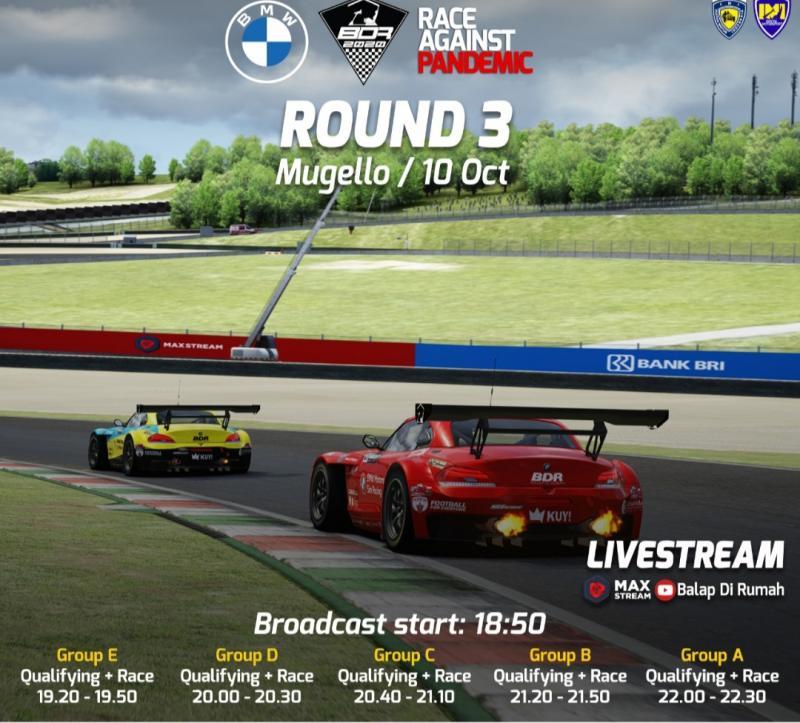 Pertemukan Sim Racer dan Pro Driver, BDR Race Against Pandemic menjadi event yang digandrungi pembalap dan diminati sponsor.