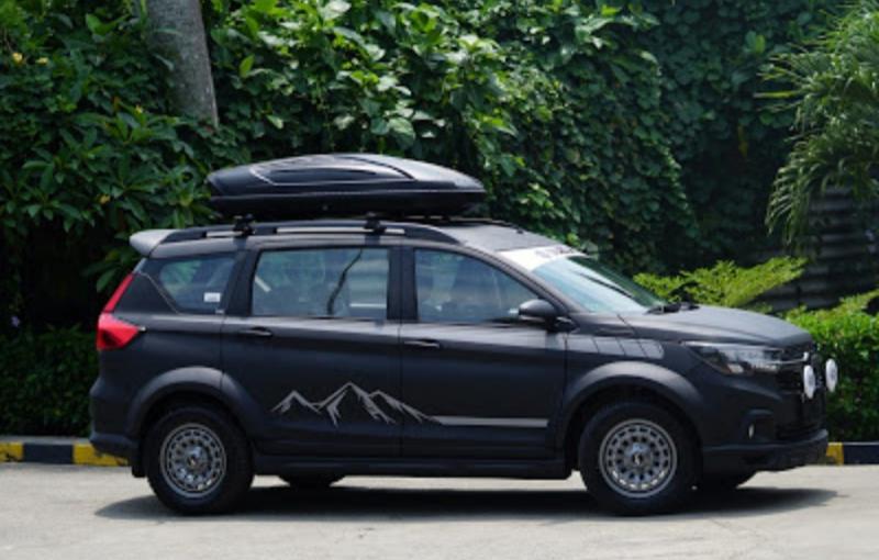 SUV Suzuki XL7 tampil gagah di Indonesia Modification eXpo 2020 berlangsung hari ini secara virtual