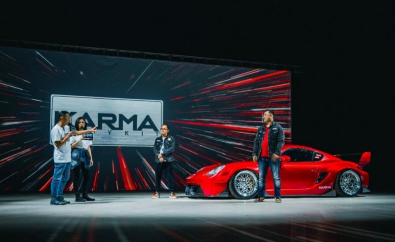 KARMA Cayman diluncurkan di IMX 2020 dengan pemilik pengusaha muda Mochamad Chandra Kurniawan