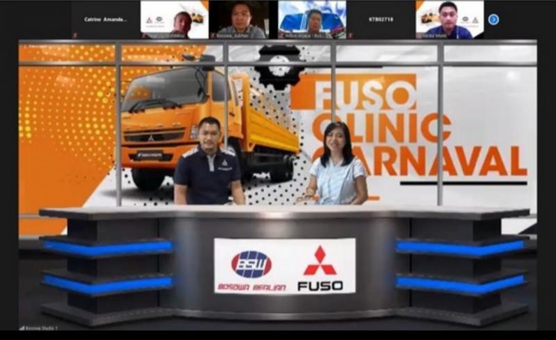 KTB melaksanakan program FUSO Clinic Carnaval bersama Diler PT Bosowa Berlian Motors