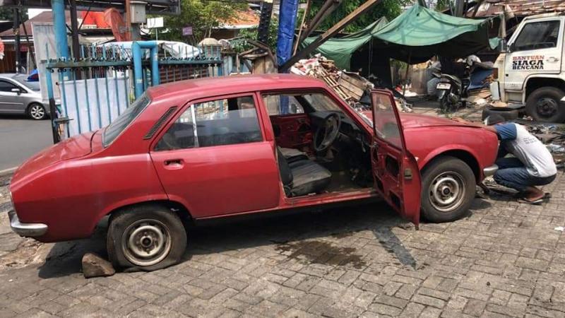 Engineblock Autoworks, restorasi mesin Peugeot lawas 504