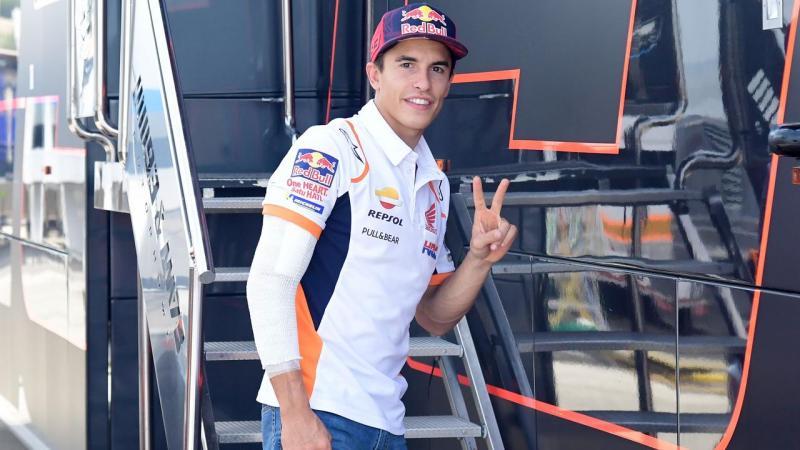 Marc Marquez (Spanyol/Repsol Honda) incar tampil di seri MotoGP Portugal. (Foto: foxsport)
