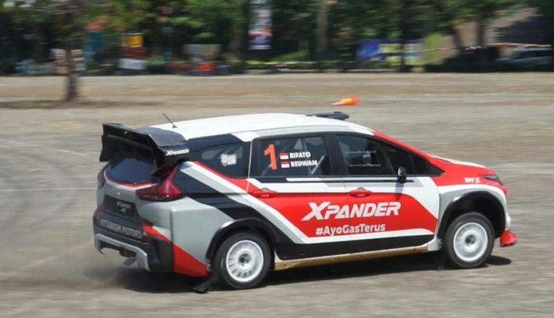 Rifat Sungkar dengan navigator M Redwan akan berlaga dengan Xpander AP4 di Meikarta Sprint Rally 2020