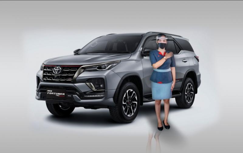 New Fortuner memperoleh sentuhan dari segi desain untuk memperlihatkan sisi ketangguhan dan kemewahan SUV gagah ini.