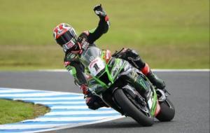 Jonathan Rea dari tim Kawasaki sukses cetak rekor baru sebagai juara dunia WSBK 6 kali berturut-turut