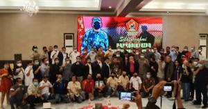 Letjen TNI AM Putranto silaturahmi bersama para Ketum IMI Provinsi dan tokoh otomotif di Bogor malam ini
