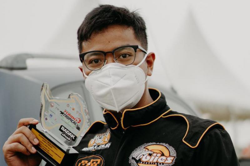 Anjasara Wahyu, juara 1 kelas F1 dan ke-9 Kejuaraan Umum di Tropical Sprint Rally 2020