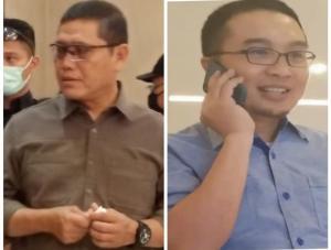 AM Putranto (kiri) dan Sadikin Aksa, dibutuhkan cost politic untuk bisa menjadi ketua sebuah organisasi olahraga termasuk IMI. (foto : budsan)