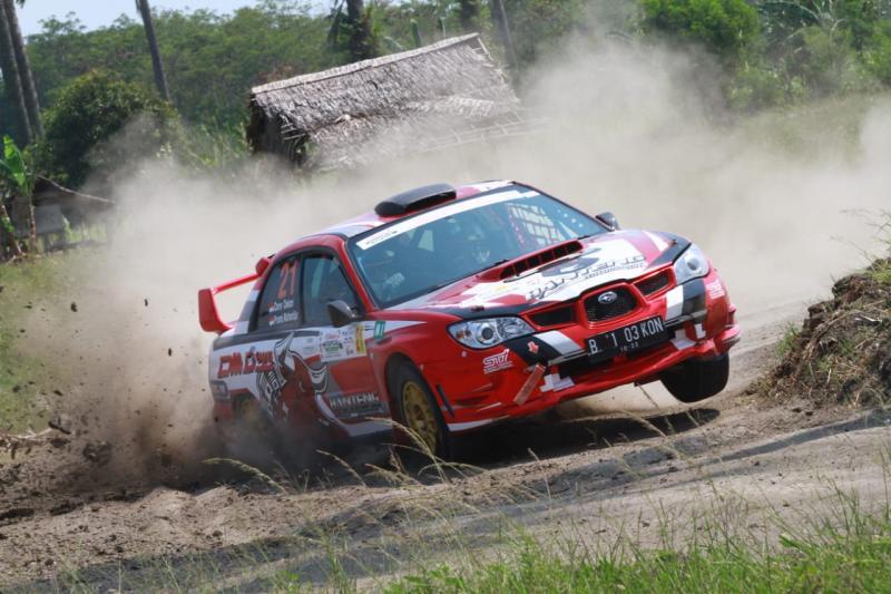 Donny Oekon dengan navigator Pramurahardjo tetap andalkan Subaru di Meikarta Sprint Rally pekan depan
