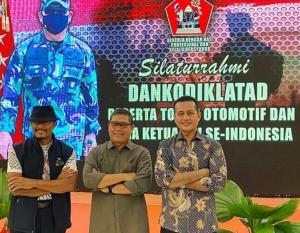 Dari kiri Nanan Soekarna, AM Putranto dan Ijeck pada silaturahmi dengan para Ketum IMI Provinsi se-Indonesia dan tokoh otomotif di Bogor