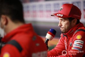 Andrea Dovizioso, andalan tim Ducati di MotoGP.  (Foto: mootorsport)