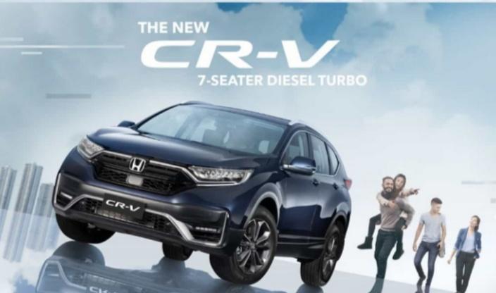 New Honda CR-V telah diperbarui dengan fituryang canggih dan modern dan juga dilengkapi dengan fitur Honda SENSING.
