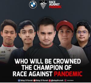 Belum ada yang dominan, gelar juara umum BDR Race Against Pandemic masih cair untuk semua pembalap
