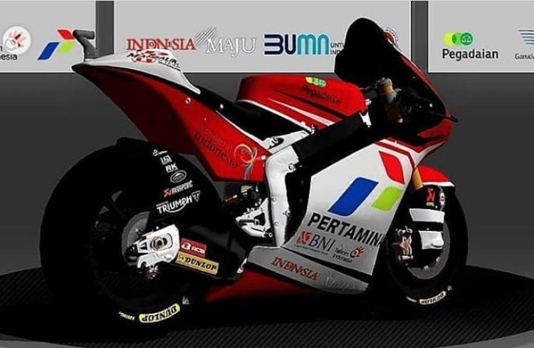 Pertamina jadi sponsor utama tim Pertamina Mandalika MotoGP