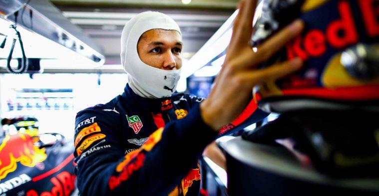 Alexander Albon (Red Bull), tugas khusus menekuk Sergio Perez di Portugal. (Foto: gpblog)