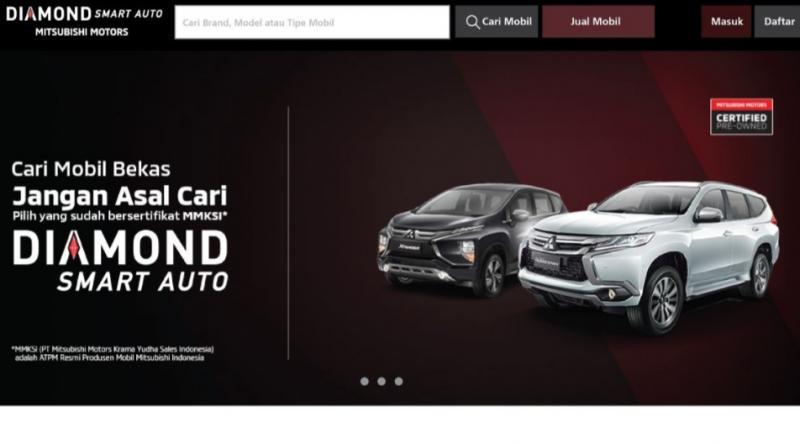 Diamond Smart Auto, sebagai layanan resmi penjualan mobil bekas berkualitas dan bersertifikasi Mitsubishi.