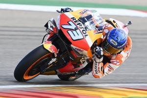 Alex Marquez (Spanyol/Repso Honda), baru sekali DNF dalam 11 laga MotoGP. (Footo: autosport)