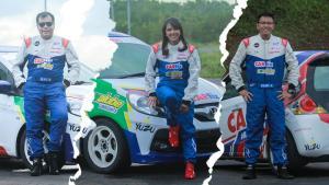 Trio peslalom CARfix siap tampil maksimal di Meikarta 3in1 Motorsport 2020