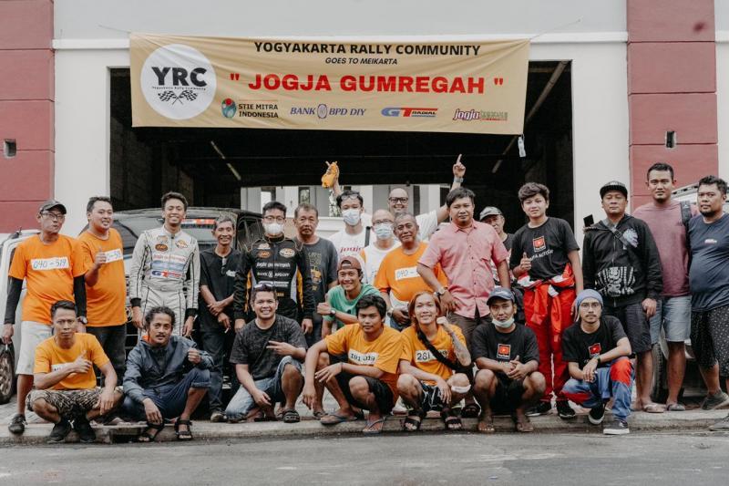 Squad The Beagle bersama Yogyakarta Rally Community, ingin bisa berbicara di level nasional. (foto : ist)