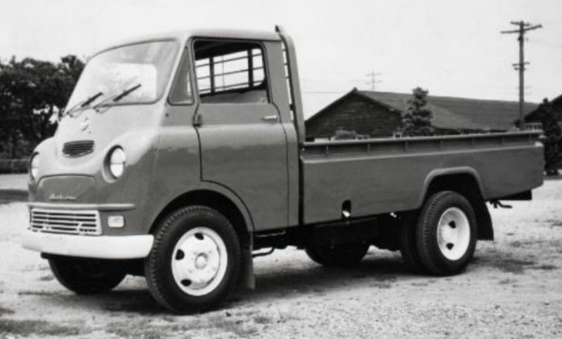 Daihatsu Vesta, jenis truk kompak merupakan produksi pertama Daihatsu pada 1958