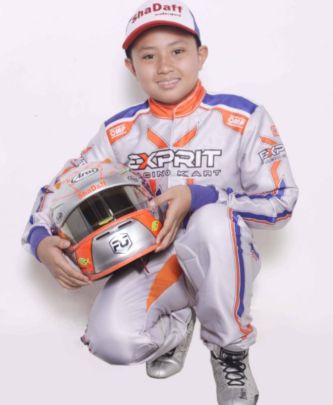 Kanaka Azarel Gusasi, juara umum junior termuda Eshark Rok Cup
