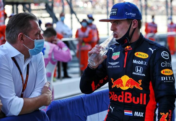 Jos dan Max Verstappen (Belanda) sama-sama pilih Nico Hulkenberg jadi teammate 2021. (Foto: f1)