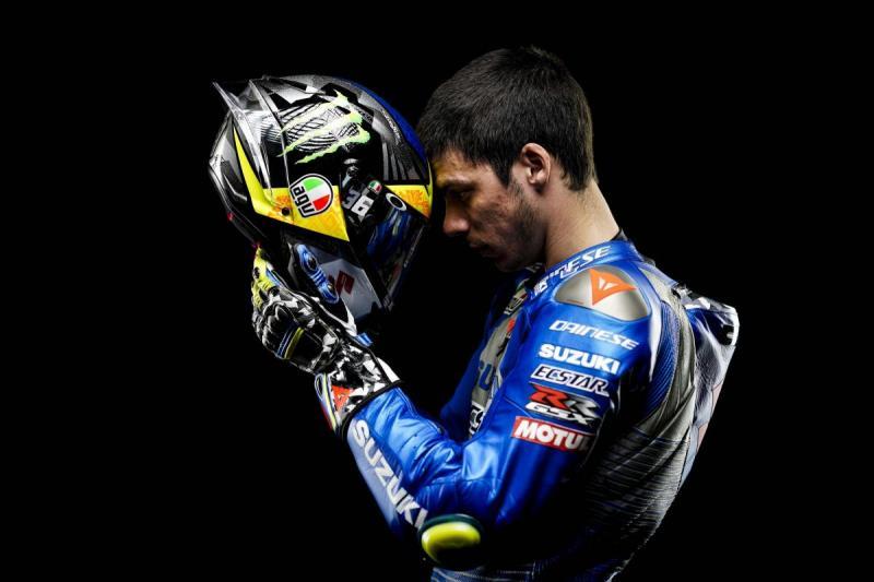 Joan Mir (Spanyol/Suzuki), pancang target juara dunia terkunci di GP Valencia pekan ini. (Foto: motogp)