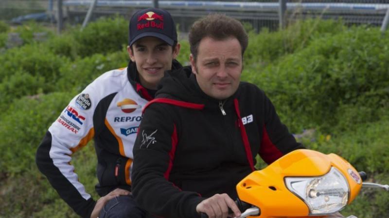 Emilio Alzamora dan Marc Marquez, butuh cangkok tulang. (Foto: marca)