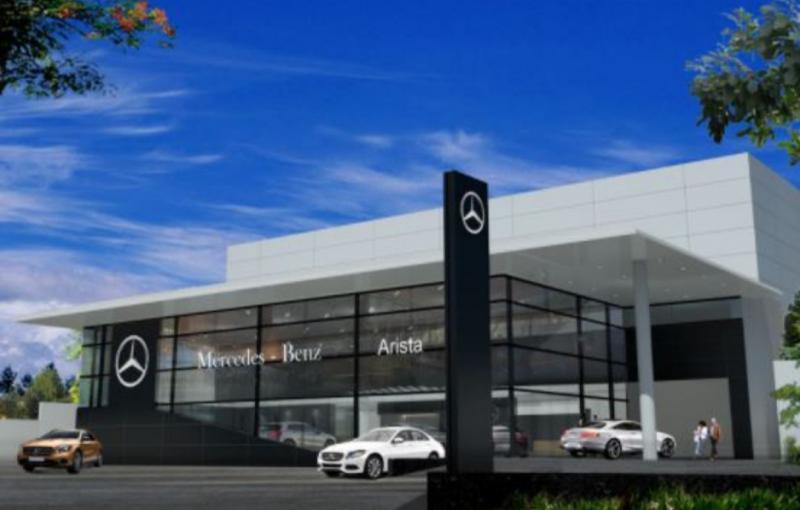 Fasilitas diler Mercedes-Benz ini telah memulai pembangunan sejak tanggal 8 November dan akan beroperasi pada kuartal ke-3 tahun 2021.