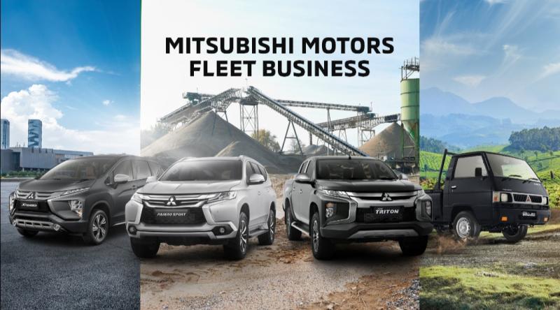 Model-model kendaraan Mitsubishi Motors telah dipercaya para konsumen fleet ketangguhan dan kenyamanannya menemani aktivitas pekerjaan konsumen
