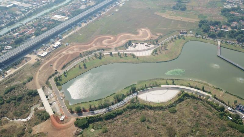 Area gravel yang saat ini ada di Meikarta, tinggal berdiskusi dengan manajemen Meikarta Lippo Group. (foto: ist)