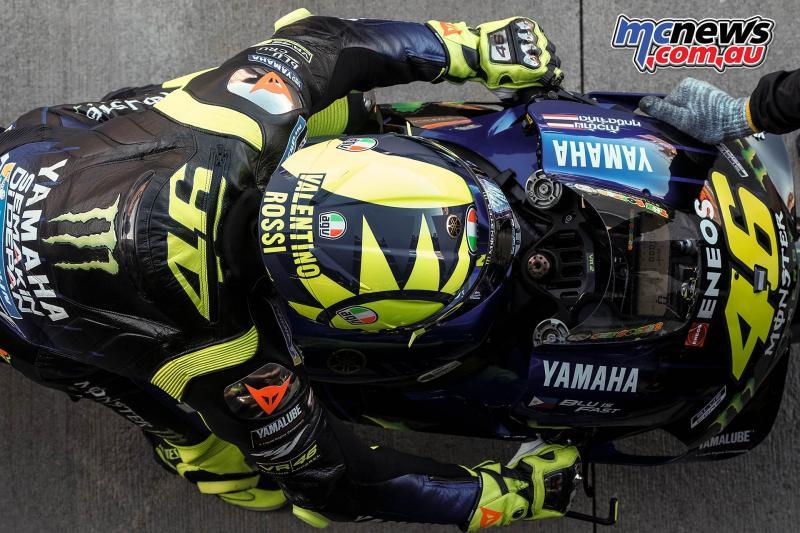 Valentino Rossi Italia/Yamaha), persoalkan pogram tes timnya jelang kompetisi. (Foto: mcnews)