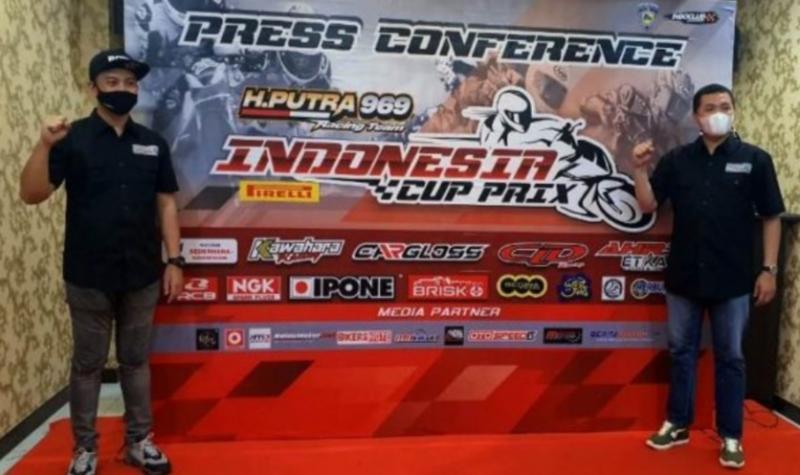 Denny Wajonk (kiri) dan H.Putra Rizky, siap menggelar event bergengsi Indonesia Cup Prix 2020