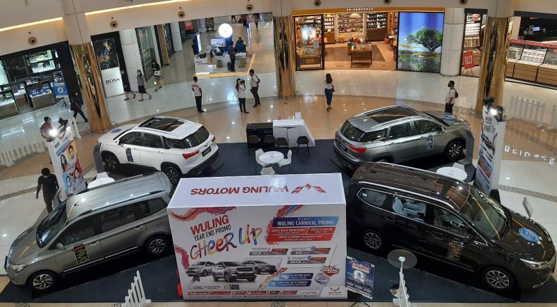 Wuling Weekend Cheer Up, pameran mobil di mall untuk gaet konsumen