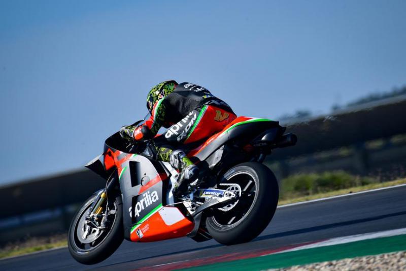 Aleix Espargaro (Spanyol/Aprilia), kejutan di sesi latihan, Berlanjutkah hingga raceday? (Footo: motogp)