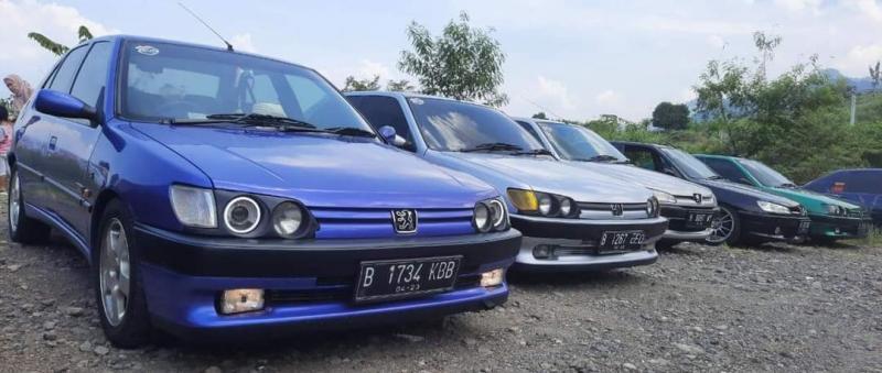 Touring komunitas Peugeot 306 ke Ciletuh, Sukabumi, Jawa Barat
