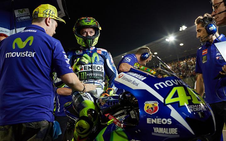 Valentino Rossi (Italia/Yamaha), berpisah dengan tim dan juga berpisah dengan sejumlah mekanik andalan. (Foto: motorsportmagazne)
