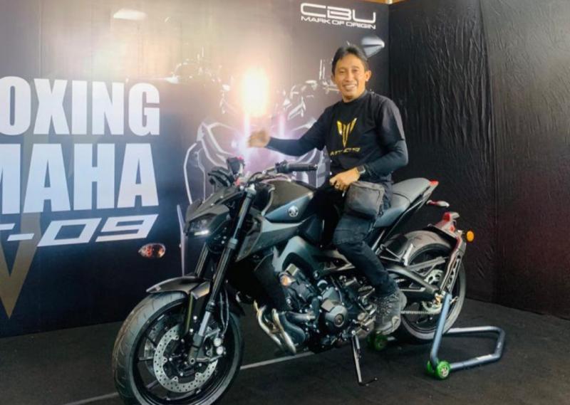 Winasa, satu-satunya Yamaha MT-09 terbaru di Bali