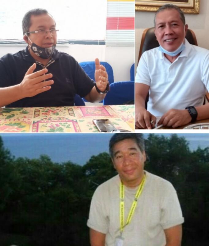 Dari kiri atas searah jarum jam : Riduan Tumenggung, Titus Wahyudi dan Indradjit Sardjono. (Foto : kolase)