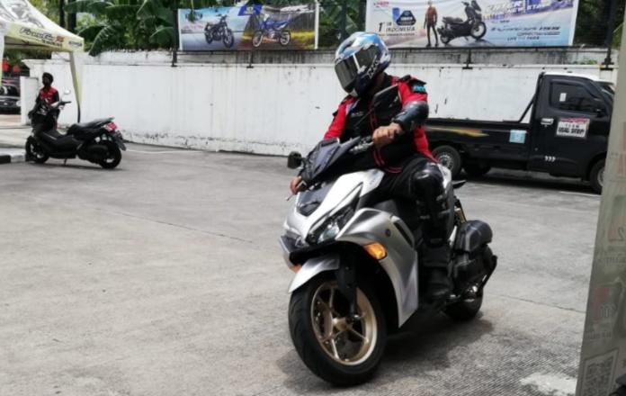 All New Aerox 155 Connected, secara resmi mengaspal di wilayah Jawa Tengah dan Yogyakarta.