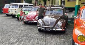 Koleksi mobil Volkswagen Biem Benyamin putra komedian legendaris Betawi, Benyamin Suaeb