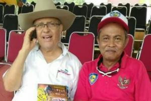 Helmy Sungkar dan Chandra Samad Djania yang dijuluki Helmy Sungkar dari Makassar, ingin event Trendypromo Mandira jadi role model dan standar IMI
