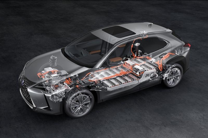 Lexus UX 300e bisa mengisi daya baterai di Stasiun Pengisian Kendaraan Listrik Umum (SPKLU) yang telah disediakan PT. PLN.