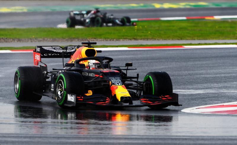 RB16 besutan Max Verstappen di Turki,  lanjutkan inovasi ke Bahrain yang juga terancam hujan akhir pekan ini. (Foto: formulaspy)