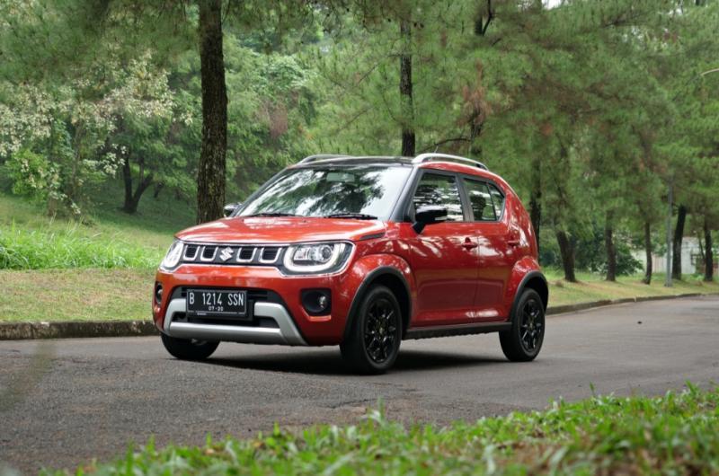 Suzuki New Ignis berhasil menyabet penghargaan sebagai merk city car pilihan Gen Z