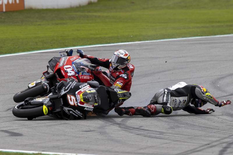 Andrea Dovizioso (Ducati), pembalap yang paling dirugikan Johann Zarco di musim 2020. (Foto: motorsportweek)