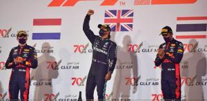 Double podium Red Bull di Bahrain, positif buat Max Verstappen dan Alex Albon. (Foto: f1experiences)