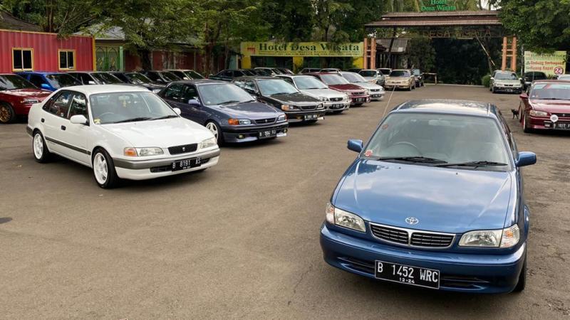 Jakarta All New Corolla Senayan merayakan hari jadi ke-2